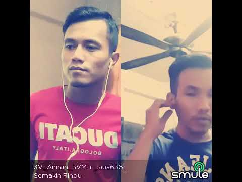 Semakin Rindu (real spin) cover by Aiman & Aus