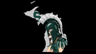 How to Draw Michigan State Spartans Mascot