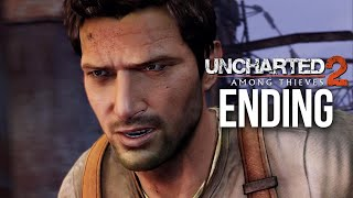UNCHARTED 2 AMONG THIEVES ENDING PS4 Gameplay Walkthrough Part 8 (Uncharted Nathan Drake Collection)