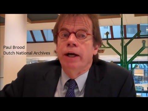 AU visits the Dutch National Archives