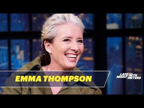 Emma Thompson on Writing Last Christmas and Hedgehogs in the UK
