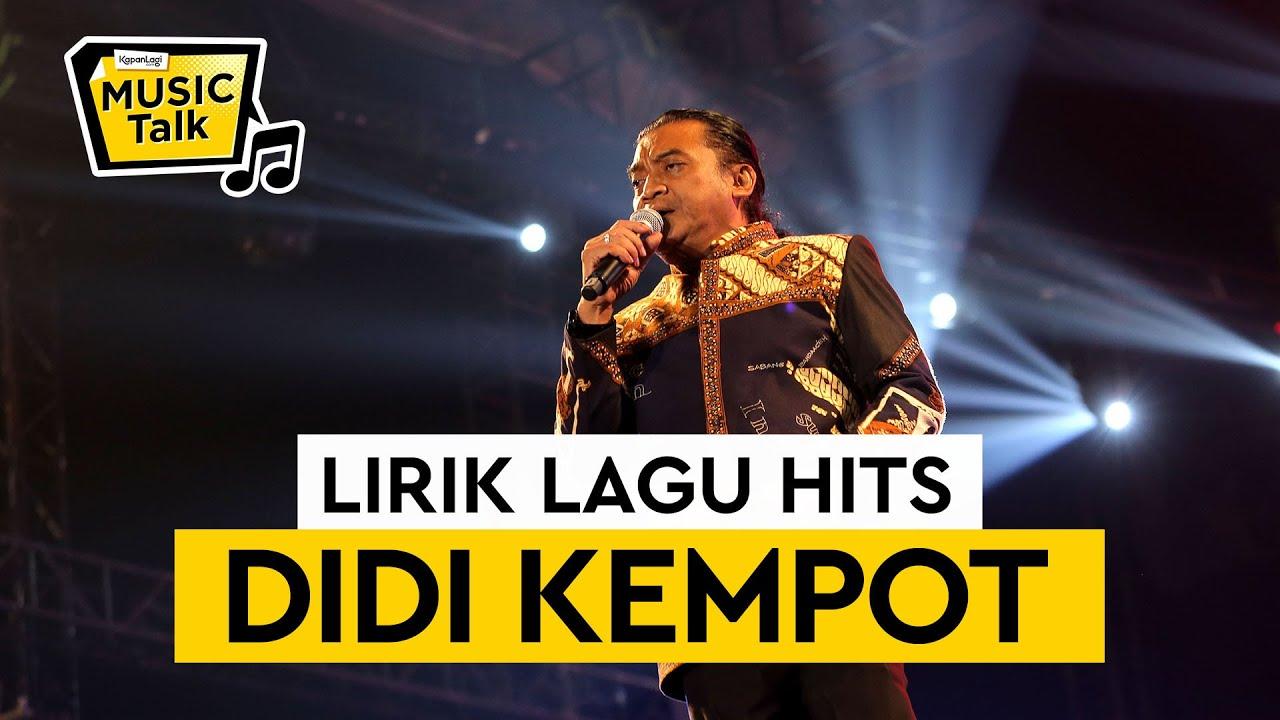 5 Lagu Hits Mendiang Didi Kempot Yang Bikin Ambyar Youtube
