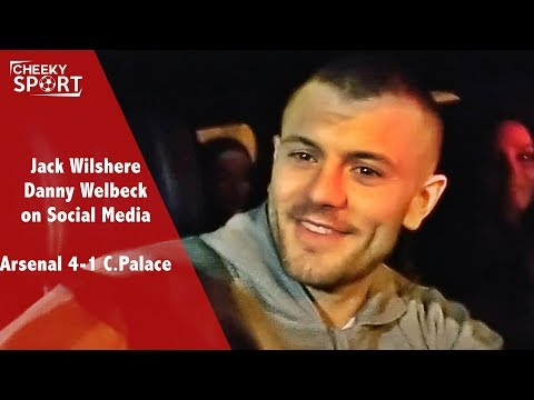 JACK WILSHERE AND DANNY WELBECK ON SOCIAL MEDIA | Arsenal 4-1 Crystal Palace | Sanchez to Man Utd