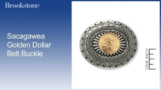 Overview: Sacagawea Golden Dollar Belt Buckle