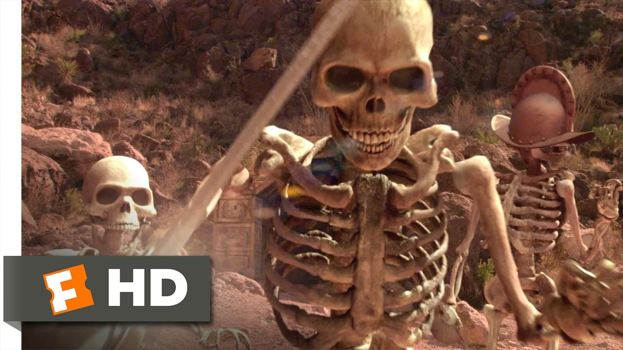 Spy Kids  Skeletons Gif
