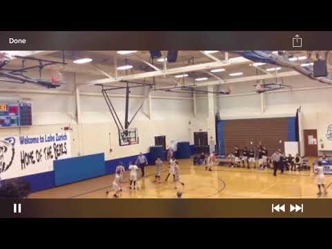 Nikola Sinik #34 Streamwood High School Varsity Basketball highlights S