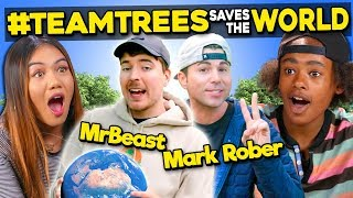 Generations React To MrBeast Planting 20,000,000 Trees (#TeamTrees)