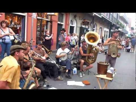 """Tuba Skinny sings  """"Vine Street Drag"""" on Royal St 4/16/12  - MORE at DIGITALALEXA channel"""