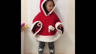 [해외직구] 아기 크리스마스 옷 어린이 3세 남아 여아…