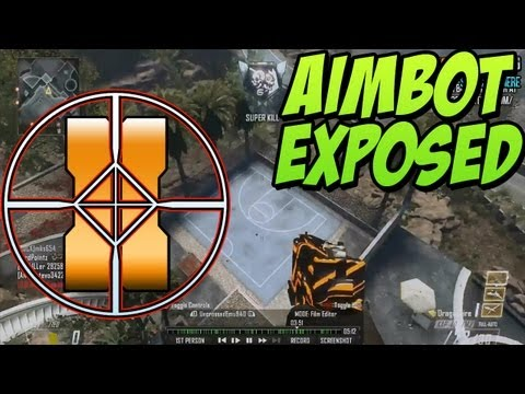 """BO2 - """"AIMBOT"""" Hacker Exposed on Xbox 360 (Black Ops 2 Flying Mode Hack)"""