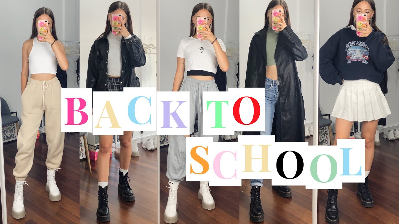 13 CASUAL BACK TO SCHOOL OUTFITS | Ops Katya