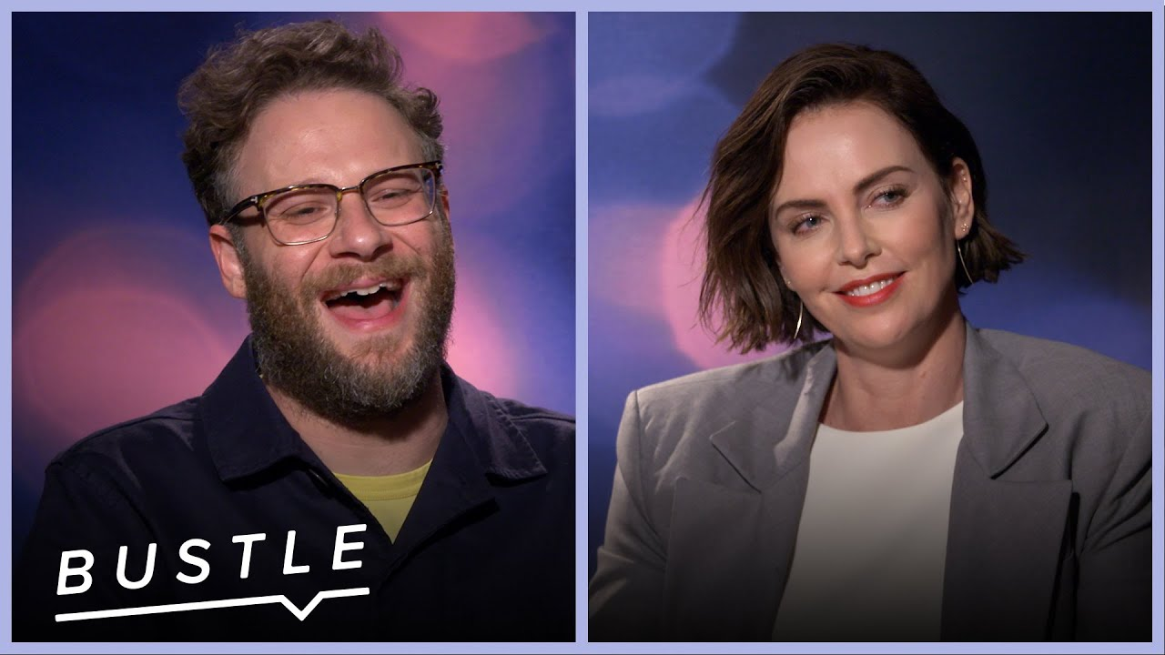 Download Charlize Theron and Seth Rogen Rewrite Famous Speeches   Bustle Cuts