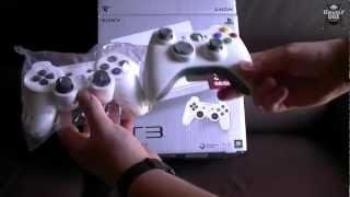 Unboxing PS3 Blanca
