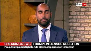 President Trump delivers remarks on census, citizenship at the White House | ABC News