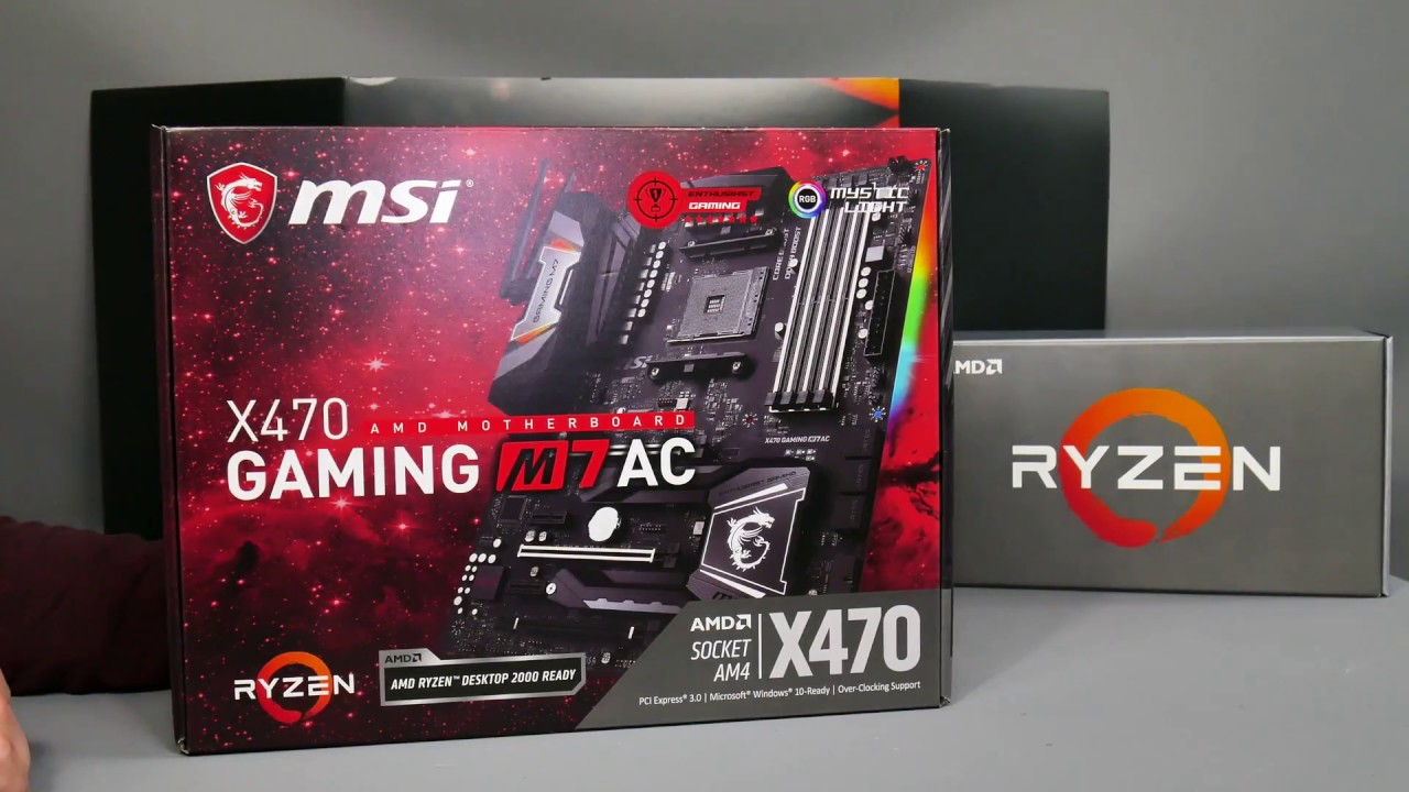 Motherboard manufacturers announce AMD X470 motherboards