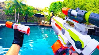 Nerf War: First Person Shooter 7 (ft. Donald Trump and Hillary Clinton) thumbnail