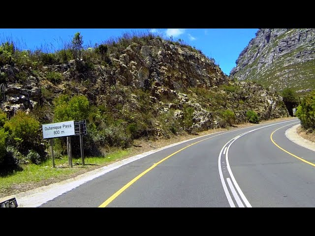 Outeniqua Pass (N9) Part1 - V4 2017 - Mountain Passes of South Africa