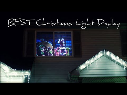 Create THE BEST Christmas Light Display With a Projector and Digital Decorations