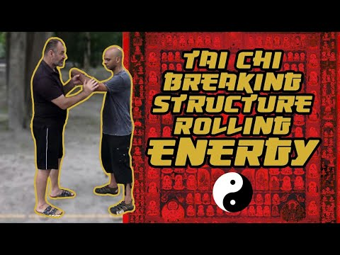 Tai Chi breaking structure rolling energy Mark Rasmus 17Aug 2016