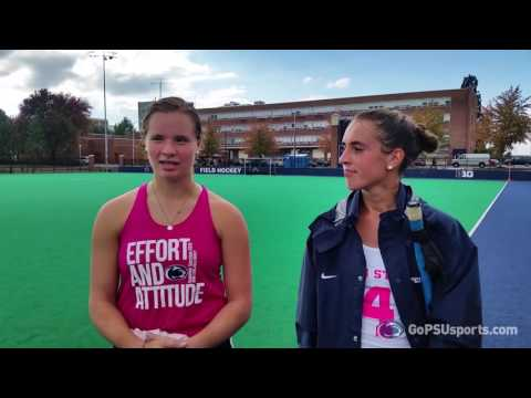 Penn State Field Hockey Post-Game Princeton