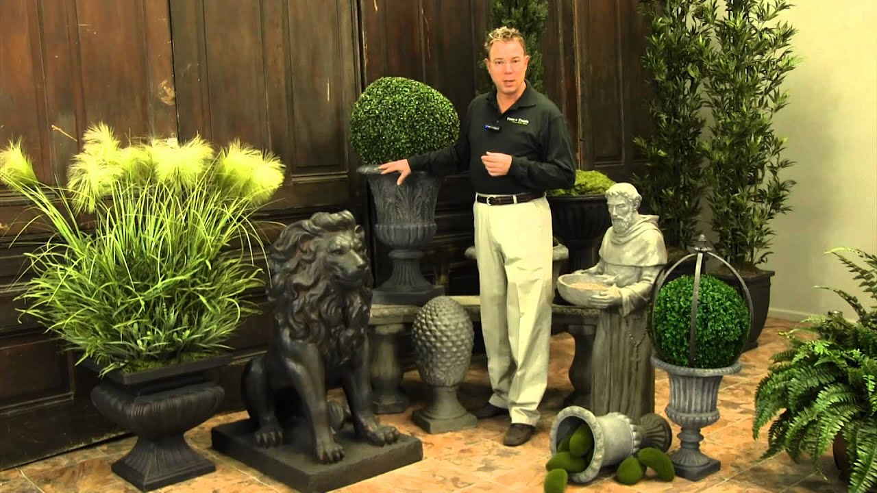 Outdoor garden accessories trees n trends unique home for Garden decor accents