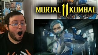 "Gors ""Mortal Kombat 11"" FROST Reveal Trailer REACTION (MAH GURL!!!)"