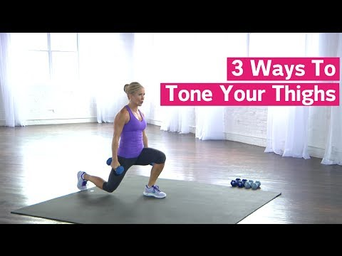 3 Ways To Tone Your Thighs