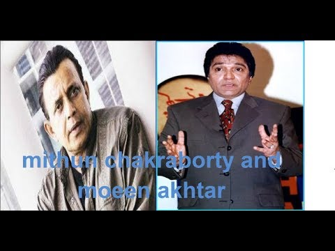 Mithun Chakraborty And Moeen Akhtar