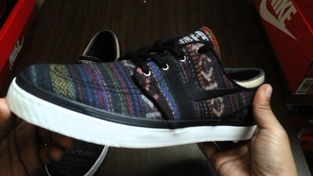 detailed look fbad0 eb285 Unboxing Review Nike SB Janoski Premium Hacky Sack