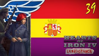 HoI4 La Resistance   Germany Blitz - Anarchist Spain Hearts of Iron IV Gameplay Ep. 39