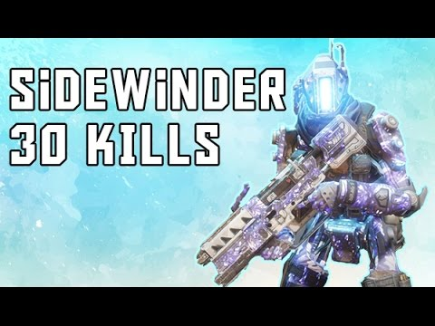 TITANFALL 2: REAL SIDEWINDER SMR GAMEPLAY | 30 KILLS