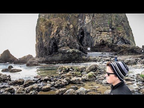 Rogue Waves At Haystack Rock