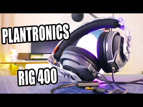 VIDEO REVIEW: Plantronics RIG 400HS Camo Headset ✅ You Can Buy in Online Store (RisoFan💻)