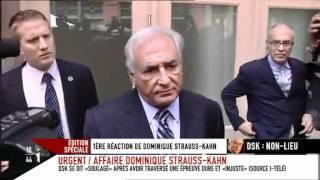 1ère Déclaration de Dominique Strauss-Kahn après l