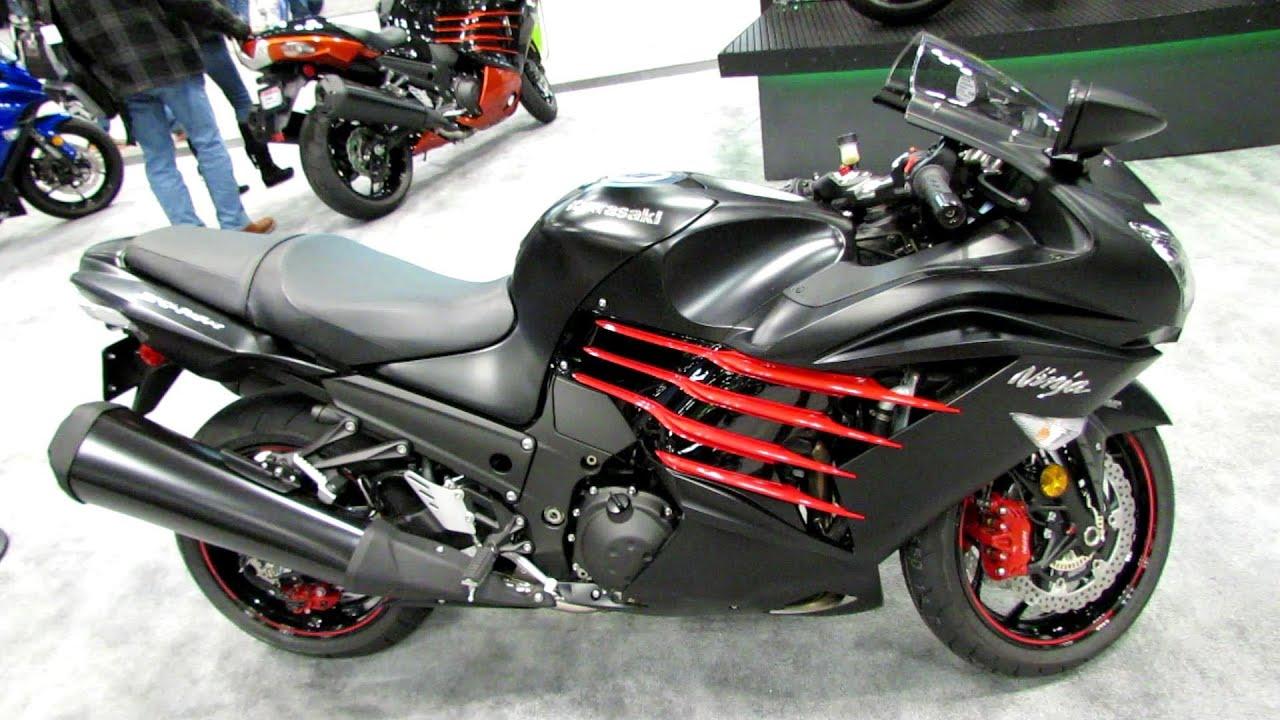 2014 Kawasaki Ninja ZX-14R Walkaround - 2013 NY Moto Show - YouTube