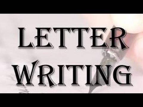 Letter writing ! Type of letter! Letter format - YouTube
