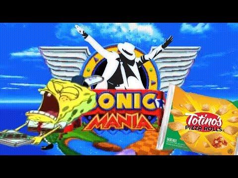 Sonic Mania Custom Music Mod - SiIvaGunner/ Michael Jackson/ Krusty Pizza Edition