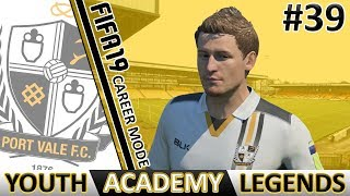 90TH MINUTE WINNER! - FIFA 19 Port Vale Career Mode #39   Youth Academy Legends