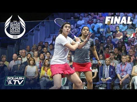 Squash: El Sherbini v El Welily - Allam British Open 2018 - Final