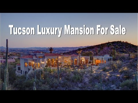 Luxury Mansion in Tucson Arizona For Sale 5831 E. Finisterra