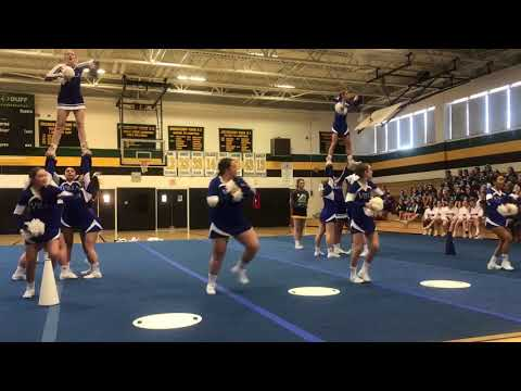 Villa Joseph Marie high school cheerleading 2018