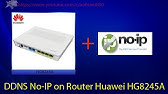 Setup DDNS on a Huawei Router (HG8245H) - YouTube