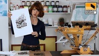 Wie funktioniert DIY Siebdruck auf T-Shirts? Siebdruck jetzt selber machen!