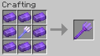 Minecraft but you can craft any item from netherite...
