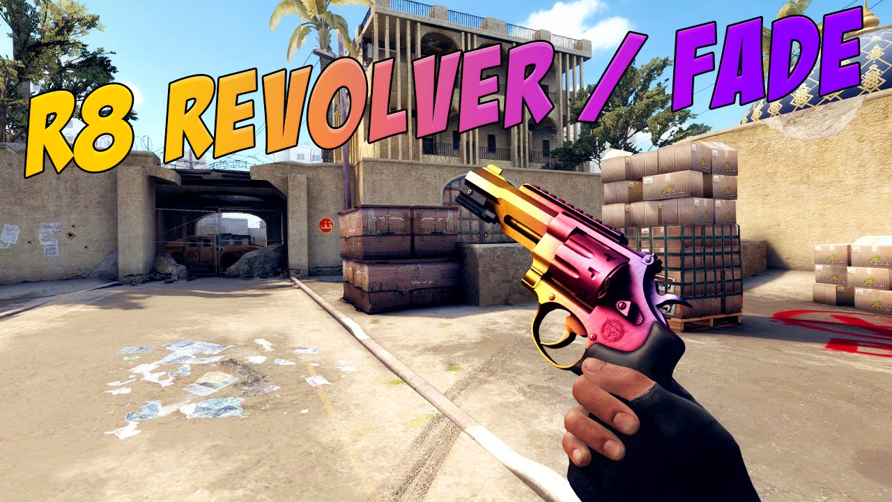 Cs Go R8 Revolver Fade Gameplay Youtube
