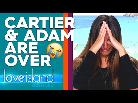 Cartier Left In Tears After Adam Calls An End To Their Relationship | Love Island Australia 2019
