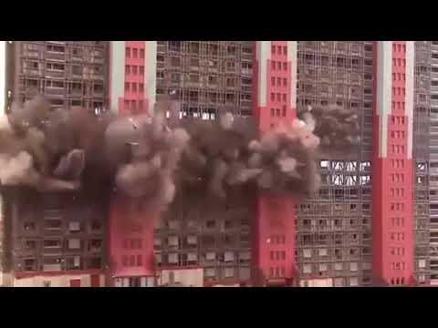 DEMOLITION MAYHEM HUGE BUILDINGS DESTROYED IN SECONDS