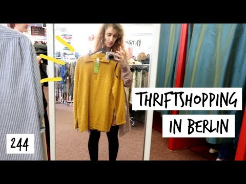 Taking You To Berlin's Biggest Thrift Store | Travel Vlog 244 | HiLesley-Ann