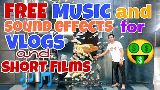 YOUTUBE TIPS : free music and sound effects for vlogs and short films ( filipino )