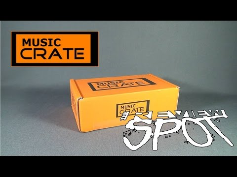 Subscription Spot  - Music Crate March 2016 Subscription Box OPENING!